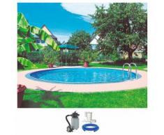KWAD Rundpool Palma (Set) weiß Swimmingpools Pools Planschbecken Garten Balkon