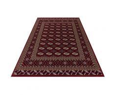 Festival Teppich Oriental 111, rechteckig, 11 mm Höhe, Orient Look, Kurzflor rot Esszimmerteppiche Teppiche nach Räumen