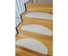 Stufenmatte, »Trend«, Living Line, stufenförmig, Höhe 8 mm, maschinell getuftet, natur, Neutral, creme
