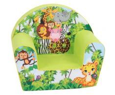 Knorrtoys Sessel Jungle grün Kinder Kindersessel Kindersofas Kindermöbel