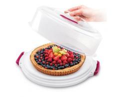 Metaltex Kuchentransportbox, (1 tlg.), höhenverstellbar farblos Kuchentransportbox Aufbewahrung Küchenhelfer Haushaltswaren