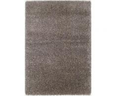 OCI DIE TEPPICHMARKE Hochflor-Teppich Lobby Shaggy, rechteckig, 52 mm Höhe, Wohnzimmer grau Schlafzimmerteppiche Teppiche nach Räumen