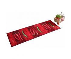 Schmutzfangmatte rot Schmutzfangläufer Läufer Bettumrandungen Teppiche Fußmatten