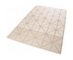 Esprit Teppich Noora Kelim, rechteckig, 5 mm Höhe, Wohnzimmer beige Schlafzimmerteppiche Teppiche nach Räumen