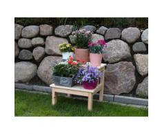 promadino Pflanzentreppe, BxTxH: 44x42,5x39 cm beige Zubehör Pflanzen Garten Balkon Pflanzgefäße