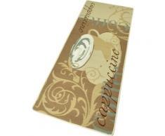 Küchenläufer, Cappuccino, HANSE Home, rechteckig, Höhe 8 mm, maschinell getuftet beige Küchenläufer Läufer Bettumrandungen Teppiche