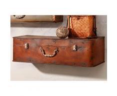 Home affaire Konsolentisch Koffer, braun, antikbraun
