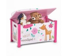 Zeller Kinder-Sitztruhe Girly, rosa, pink