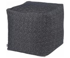 Sitzwürfel, Onixemon, H.O.C.K. schwarz Kinder Sitzkissen Sitzwürfel Hocker Kopfkissen