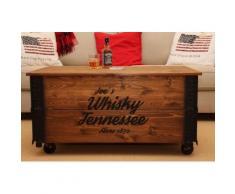Uncle Joe´s Couchtisch Whisky braun Truhen-Couchtische Couchtische Tische Tisch