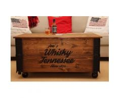 Uncle Joe´s Couchtisch Whisky, im Truhen-Design braun Truhen-Couchtische Couchtische Tische Tisch