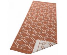 Läufer, Laila, my home, rechteckig, Höhe 5 mm, maschinell gewebt orange Küchenläufer Läufer Bettumrandungen Teppiche