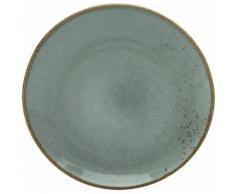 CreaTable Speiseteller NATURE COLLECTION, (Set, 6 St.), Ø 27 cm, Steinzeug grau Teller Geschirr, Porzellan Tischaccessoires Haushaltswaren