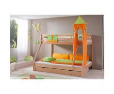 Relita Etagenbett Mike bunt Kinder Kindermöbel Nachhaltige Möbel