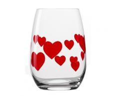 Stölzle Glas L'Amour (6-tlg.) farblos Wassergläser Saftgläser Gläser Glaswaren Haushaltswaren Trinkgefäße