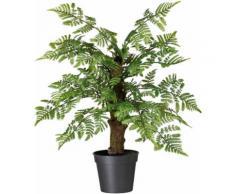 Kunstpflanze Pterisfarn, grün, grün