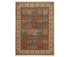 Orientteppich, Sarang Bakhtyari, OCI DIE TEPPICHMARKE, rechteckig, Höhe 8 mm, manuell geknüpft beige Fransenteppiche Teppiche