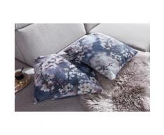 sit&more Polsterauflage, Dekokissen, 2-teiliges Kissenset blau Dekokissen gemustert Kissen Polsterauflagen