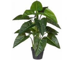 Creativ green Kunstpflanze Philodendron, im Kunststofftopf grün Künstliche Zimmerpflanzen Kunstpflanzen Wohnaccessoires