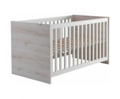 Babybett, Cuby grau Baby Gitterbetten Babybetten Babymöbel