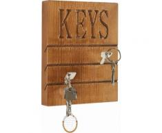 Home affaire Hakenleiste Keys, braun, braun