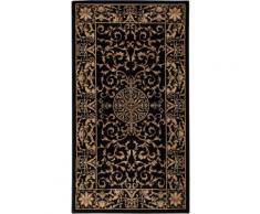 LUXOR living Teppich Kendra, rechteckig, 9 mm Höhe, Orient Optik, Wohnzimmer schwarz Esszimmerteppiche Teppiche nach Räumen