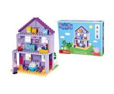 BIG Spielbausteine BIG-Bloxx Peppa Pig Grandpa´s House, (86 St.), Made in Europe bunt Kinder Bausteine Bausätze Bauen Konstruieren