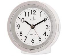 Acctim Wecker Quarzwecker Acctim, (1 tlg.) weiß Tischuhren und SOFORT LIEFERBAR Arbeitszimmer