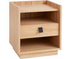 andas Nachtkommode Bechenham braun Nachtkonsolen und Nachtkommoden Nachttische Tische Sideboards