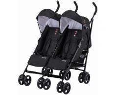 knorr-baby Zwillingsbuggy, »Side by Side, schwarz«, schwarz, Unisex, schwarz