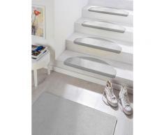 Stufenmatte Fancy HANSE Home stufenförmig Höhe 7 mm maschinell getuftet, grau, grau