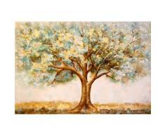 G&C Ölgemälde Winter braun Gemälde Bilder Bilderrahmen Wohnaccessoires