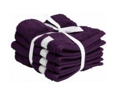 Gant Waschlappen Organic Premium lila Waschhandschuh und Handtücher Badetücher
