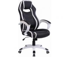 Homexperts Gaming Chair Silverstone, Chefsessel Silverstone schwarz Gaming-Zubehör Gaming-Shop