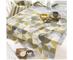 HOSSNER - HOMECOLLECTION Mitteldecke 31794 Meike gelb Mitteldecken Tischwäsche Tischdecken
