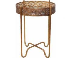 Home affaire Beistelltisch goldfarben Glas-Beistelltische Glastisch Tische Tisch