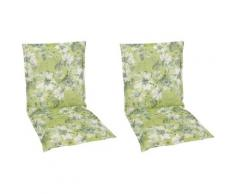 GO-DE Sesselauflage Niederlehner grün Gartenstuhlauflagen Gartenmöbel-Auflagen Gartenmöbel Gartendeko