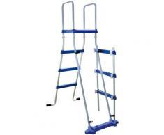 MyPool Rundpool, (Set) grau Swimmingpools Pools Planschbecken Garten Balkon Rundpool