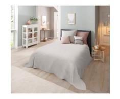 Home affaire Tagesdecke Melli, auch als Tischdecke und Sofaüberwurf einsetzbar grau Tagesdecken Decken