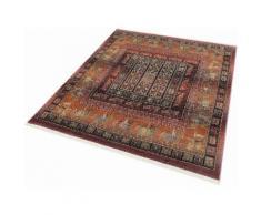 Oriental Weavers Teppich Gabiro Pazyryk, rechteckig, 11 mm Höhe, Orient-Optik, mit Fransen, Wohnzimmer orange Schlafzimmerteppiche Teppiche nach Räumen