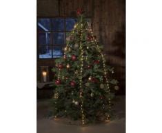 KONSTSMIDE LED Baummantel mit Ring, Tropfen silberfarben LED-Lampen LED-Leuchten SOFORT LIEFERBARE Lampen Leuchten Saisonartikel Weihnachten