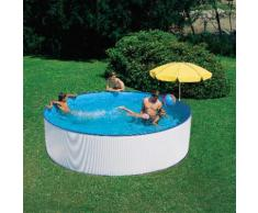 SUMMER FUN Rundpool weiß Swimmingpools Pools Planschbecken Garten Balkon
