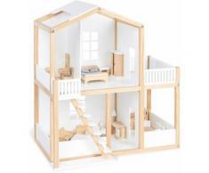 Pinolino Puppenhaus Ida weiß Kinder Ab 3-5 Jahren Altersempfehlung