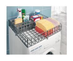 Ruco Organizer, für die Waschmaschine, Kunststoff, inkl. 3 herausnehmbare Körbchen grau Büroaccessoires Wohnaccessoires Organizer