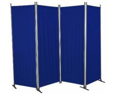 Angerer Freizeitmöbel Paravent, (B/H): ca. 170x165 cm blau Paravents Raumteiler Wohnaccessoires Paravent