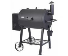 Tepro Smoker New Orleans, BxTxH: 122x66x127 cm schwarz Grills Garten Balkon