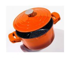 KING Schmortopf Shine Orange (1-tlg.) orange Schmortöpfe Töpfe Haushaltswaren Topf