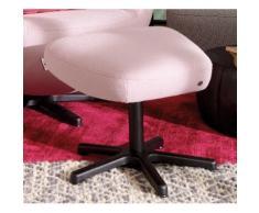 TOM TAILOR Hocker PURE, mit Metall-Drehfuß in Chrom schwarz Tom Tailor Sessel und Premium-Möbel