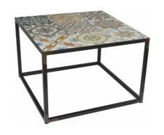 Spinder Design Beistelltisch IBIZA schwarz Beistelltische Tische Tisch