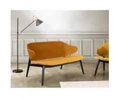 andas Polsterbank Sporring goldfarben Polsterbänke Sitzbänke Stühle Sofas